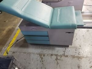 Midmark Ritter 104 Exam Table With Stirrups Teal Cda