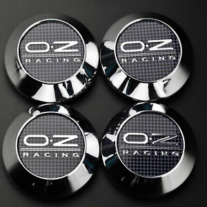 4x 68mm 62mm Racing Wheel Center Hub Caps Chrome For Rota Slipstream Rims