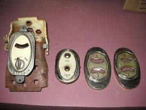 1920s 1930s Buick Or Othe Old Car Gauge Face Panels And Bezels Rat Rod Original