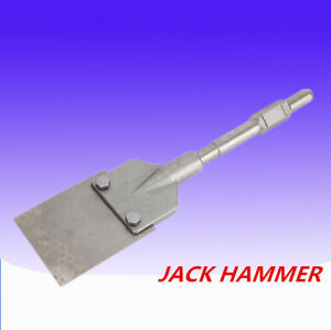 Rotary Hammer Steel Power Shovel Clay Spade Bit Digging Dirt Clay Tool Top