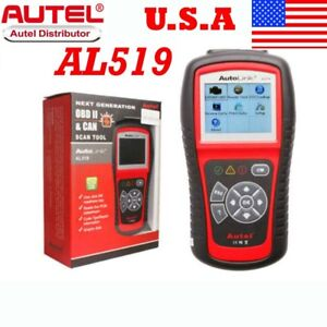 Autel Autolink Al519 Obdii can Scan Tool Code Reader Diagnostic Ship From Usa