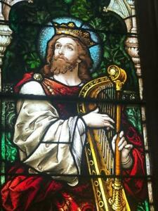 Incredible St David Mayer Of Munich Church Religious Stained Glass Window