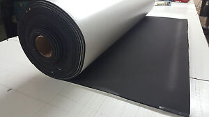 1 4x53 widex10ft Closed Cell Sponge Rubber Roll Neo epdm Blend Adhesive 1 Side