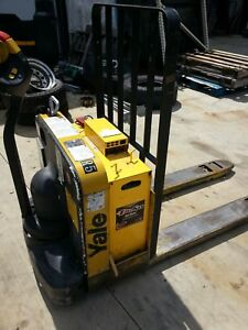 Yale Electric Pallet Jack Forklift Truck Newark Ohio 43055 Model Mpw050
