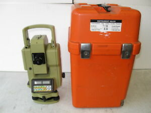 Wild Heerbrugg Theomat Tc1600 Electronic Theodolite With Case