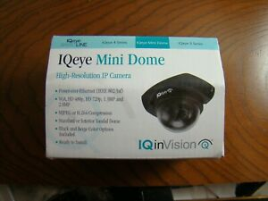 Iq Eye Mini Dome 720p H 264hd With Original Paperwork Iqd31si f1 Iqinvision