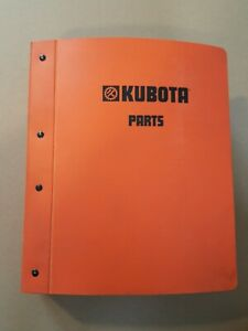 Kubota Tractor Operator Parts And Owner s Manual 11 Manuals In One Binder