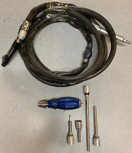 Anspach Black Max Spinal neuro Drill With Attachments Blackmax