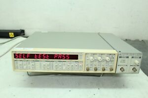 Stanford Research Sr620 Sr625 Time Interval Frequency Counter W Rubidium Cal d