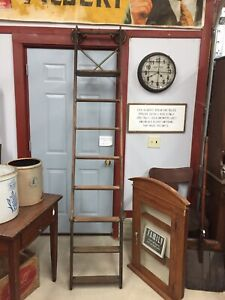 Antique General Store Industrial Ladder