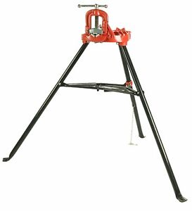 Reconditioned Ridgid 40130 40 a Portable Tristand Yoke Vise 1 8 2 1 2