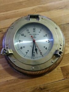 13 Vintage Bell Clock Co Ships Clock With Quartz Movement U S A