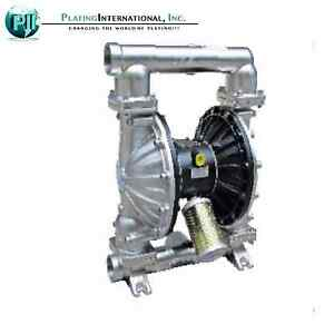 Industrial Chemical Resistant Stainless 2 Inch Air Tf Diaphragm Pump