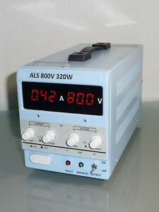 Isolated High Voltage Adjustable Lab Bench Top Dc Power Supply 2 800v 3 2a 320w