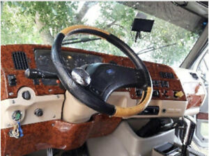 Wood Print Ford Sterling Dashboard Made In Fiberglass According To Vin