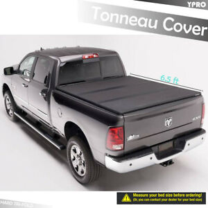 Hard Solid Tri fold Tonneau Covers For 2002 2008 Dodge Ram 1500 6 5 Ft Bed Cover