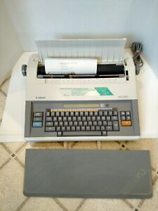 Canon Electronic Typewriter word Processor Mx300 Excellent Condition W Cover
