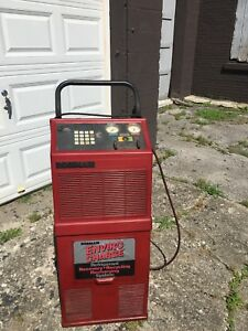 Robinair Enviro Charge Refrigerant Recovery Re Charging Ac Machine