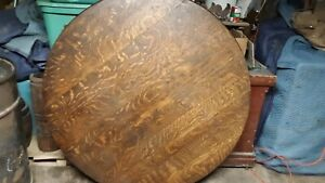 Antique Quarter Sawn Oak Table Top This Is The Top Only With No Base