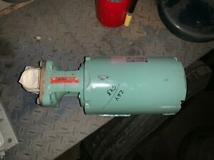 Burks 37ct7m Close Coupled Turbine Pump W Franklin 1303242103 Motor 3 4hp