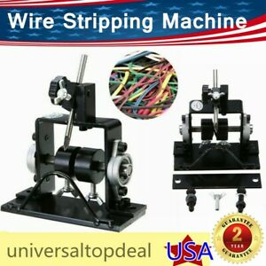Manual Wire Cable Stripping Peeling Machine Scrap Stripper Metal Recycle 1 20mm