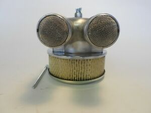 Rat Rod Air Cleaner Assembly 4 Barrel Bug Eye Bug Screen Special