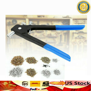 1064pcs Threaded Nut Rivet M3 m8 Insert Tool Riveter Rivnut Nutsert Riveting Kit
