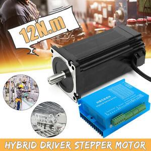 Hss86 Hybrid Servo Driver Nema34 12n m Closed loop Stepper Servo Motor Set