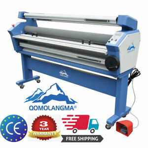 Usa 110v 63 Full auto Roll Large Format Cold Laminator Machine Heat Assisted