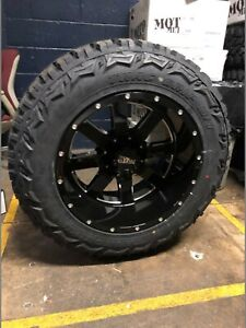 20x12 Moto Metal Mo962 35 Mt Wheel Tire Package 6x5 5 Chevy Suburban Tahoe