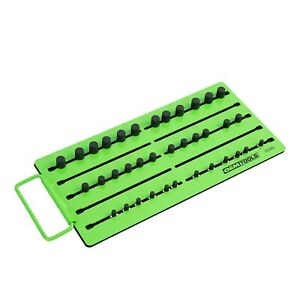 Oemtools 22389 Pro Magnetic Socket Tray Green And Black