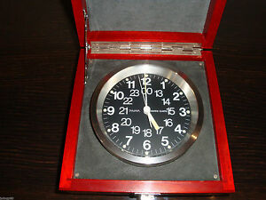 Tamaya Q 2 Video Marine Ship S Maritime Chronometer Clock Quartz Watch