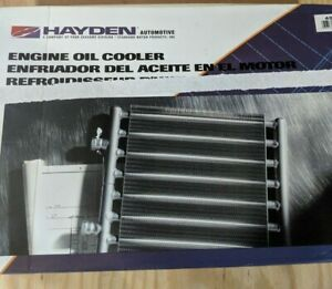 Hayden 459 Universal Engine Oil Cooler Chevy