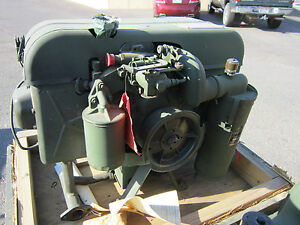 10hp Gasoline Engine W Starter 97403 13206e1250 Donaldson 2 Cylinder Air Cooled