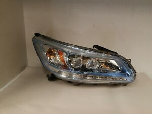 2013 2014 2015 Honda Accord Hybrid Right Passenger Side Led Headlight Oem Blue