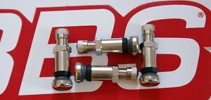 4 Real Bbs 8mm opening Metal Valve Stems 09 15 036