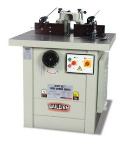 Baileigh 35 5 In X 28 Sliding Table Spindle Shaper Ss 3528 s