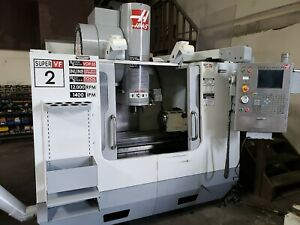 2006 Haas Vf 2ss Full 4 axes Cnc Vertical Machining Center Hrt 210 Rotary Table