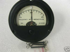 Megacycles Electrical Frequency Meter P n 7423363p1