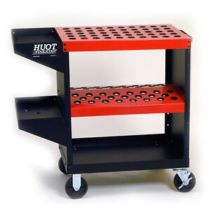 Huot Cnc Tool Cart Toolscoot Holds 48 For Cat 40 Taper 13940
