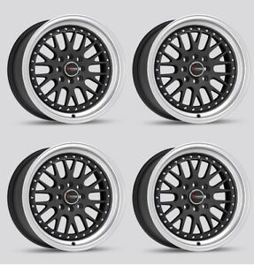 Drag Dr 58 16x8 25 Mesh Step Lips Wheels 4x100 For Honda Fit Civic Integra Rims