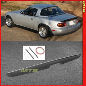For Mazda Mx 5 Miata Mx5 Rear Trunk Spoiler Mazda 1990 1997 Kg Works Jdm Style
