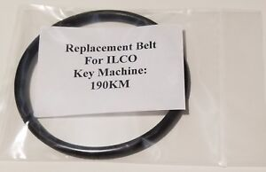 Drive Belt For Ilco 190km Or For Vintage 190km Key Cutting Duplicating Machine