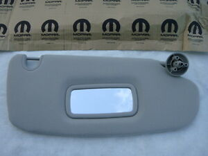 Dodge Ram Truck Pickup 02 06 Sun Visor Sunvisor Right R Passenger Gray Beige New