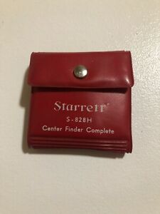Starrett S 828h Center Finder Complete 5 Piece