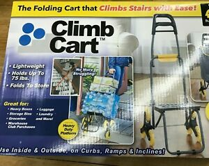 Original As Seen On Tv The Climb Cart Includes Bag Bungee Cord Folds Flat New