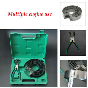 Car Repair Carbon Steel Iron Piston Ring Disassembly Tool Assembly Pliers