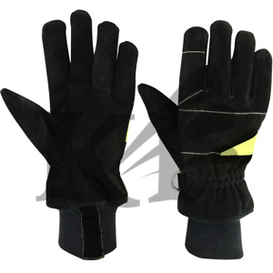Fire Fighter Gloves Protective Gloves 3 Pairs In One Lot