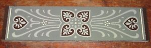 Minton Aesthetic Large Border Tile Moyr Smith Design Dresser Owen Jones Influenc
