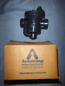 Armstrong 800 Steam Trap 1 2 Npt 80 Psig new C5297 2 Free Shipping